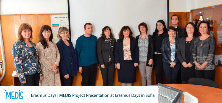 Erasmus Days | MEDIS Project Presentation at Erasmus Days in Sofia
